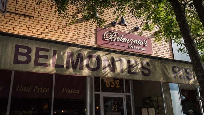 Belmontes Restaurant storefront (Photo/James J. Connolly/Correspondent)