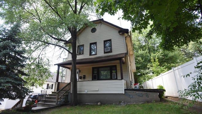 Rundown home at 66 Clinton Street in Emerson