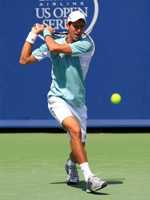 World No. 1 Novak Djokovic highlights Tuesday's schedule.