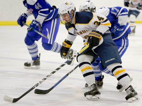 University School of Milwaukee Hockey vs Brookfield Stars