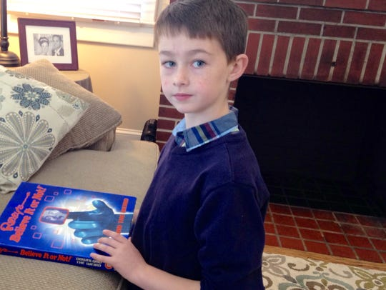 This Jan. 30, 2016 photo is of 10-year-old Nathan Roberts