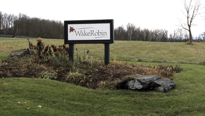A sign marks the entrance to the Wake Robin retirement community, Wednesday, Nov. 29, 2017, in Shelburne, Vt. Vermont State Police and FBI said they were investigating the source of the deadly toxin ricin that was found at the retirement community. A Wake Robin spokeswoman said residents were safe.
