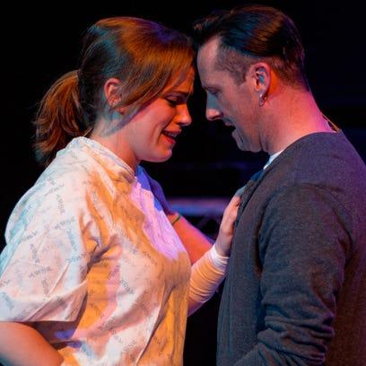 Mazie Rudolph plays Diana and Nick Newkirk plays Dan