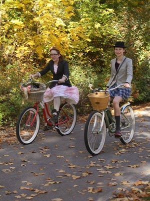 The Missoula Tweed Ride encourages people to dress up and bring out their vintage bicycles.