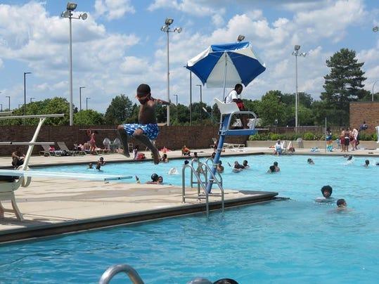 Southfield P&R pool