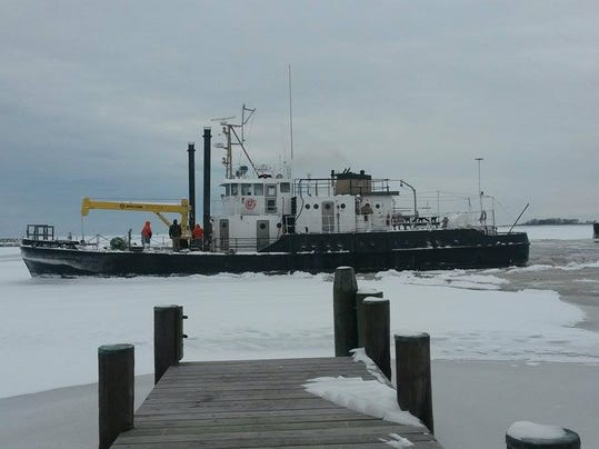 Smith Island ice