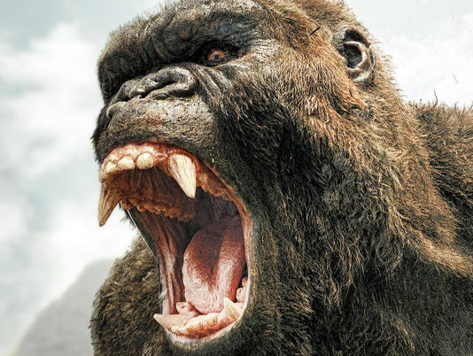 Movie Review Kong Is King But Human Characters Suffer