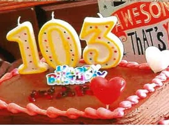 Residents of Marian Apartments celebrated the 103rd