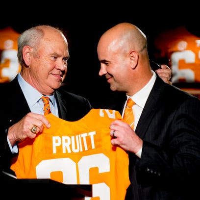 Tennessee coach Jeremy Pruitt proving he can recruit offense as well as defense