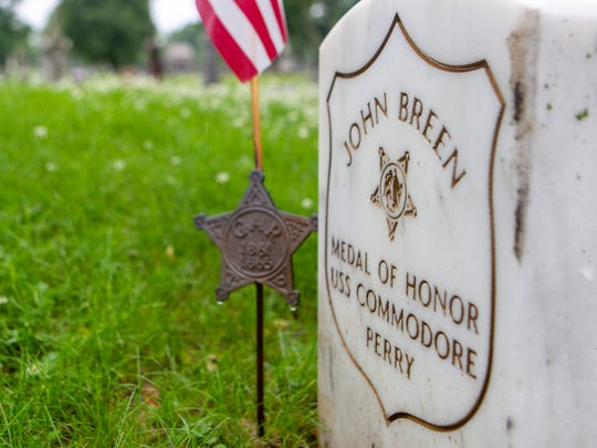 John Breen was a soldier in the United States Navy