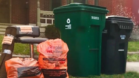 Montgomery is partnering with Simple Recycling to provide curbside collection of textiles and small housewares beginning in December.