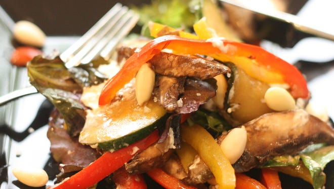 Sonja's Sauteed Vegetable Salad was served to rave reviews by all.