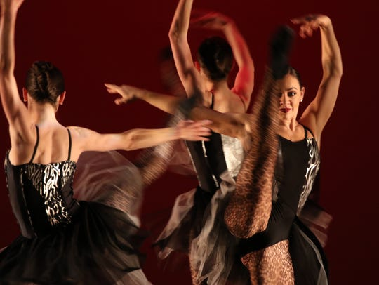 The Rochester City Ballet performance.