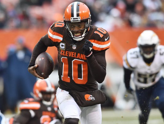 USP NFL: SAN DIEGO CHARGERS AT CLEVELAND BROWNS S FBN USA OH