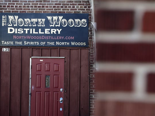 The North Woods Distillery is shown on Wednesday, November