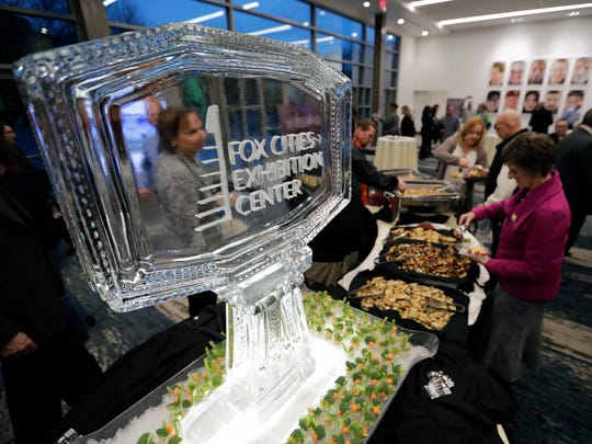 The Fox Cities Exhibition Center celebrated its grand opening last week. Hotel and motel room taxes will pay for the project.