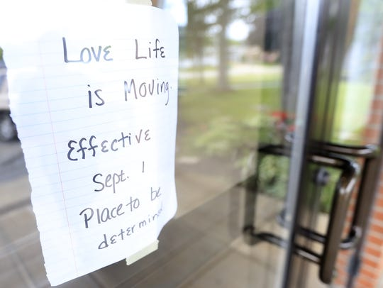 Love Life Ministry is looking for a new location, as it will be moving from its current East side space at Peace United Methodist Church on Thursday in Green Bay. Adam Wesley/USA TODAY NETWORK-Wisconsin