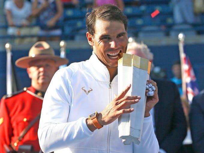 August - Rogers Cup (Toronto): Rafael Nadal