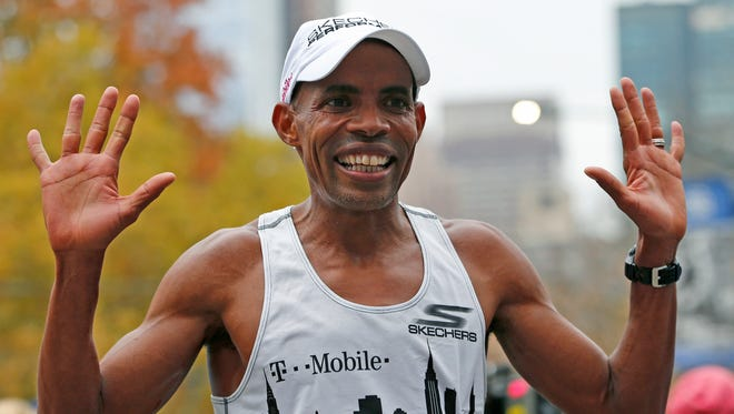 Meb Keflezighi, who finished seventh in November's New York City Marathon, will be the official starter of Waves 1 and 2 for May's OneAmerica 500 Festival Mini-Marathon.