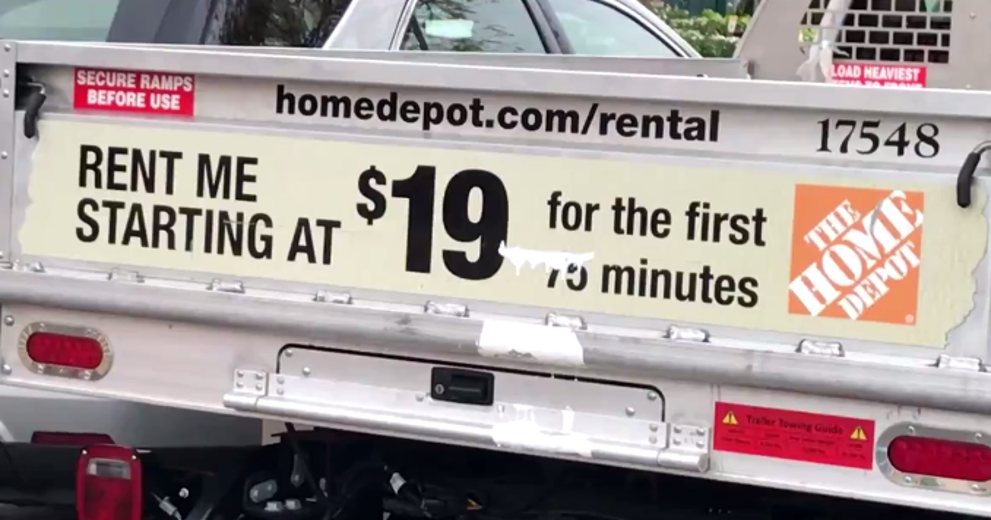 Road warrior is it too easy to rent a truck - Renter s wallpaper home depot ...