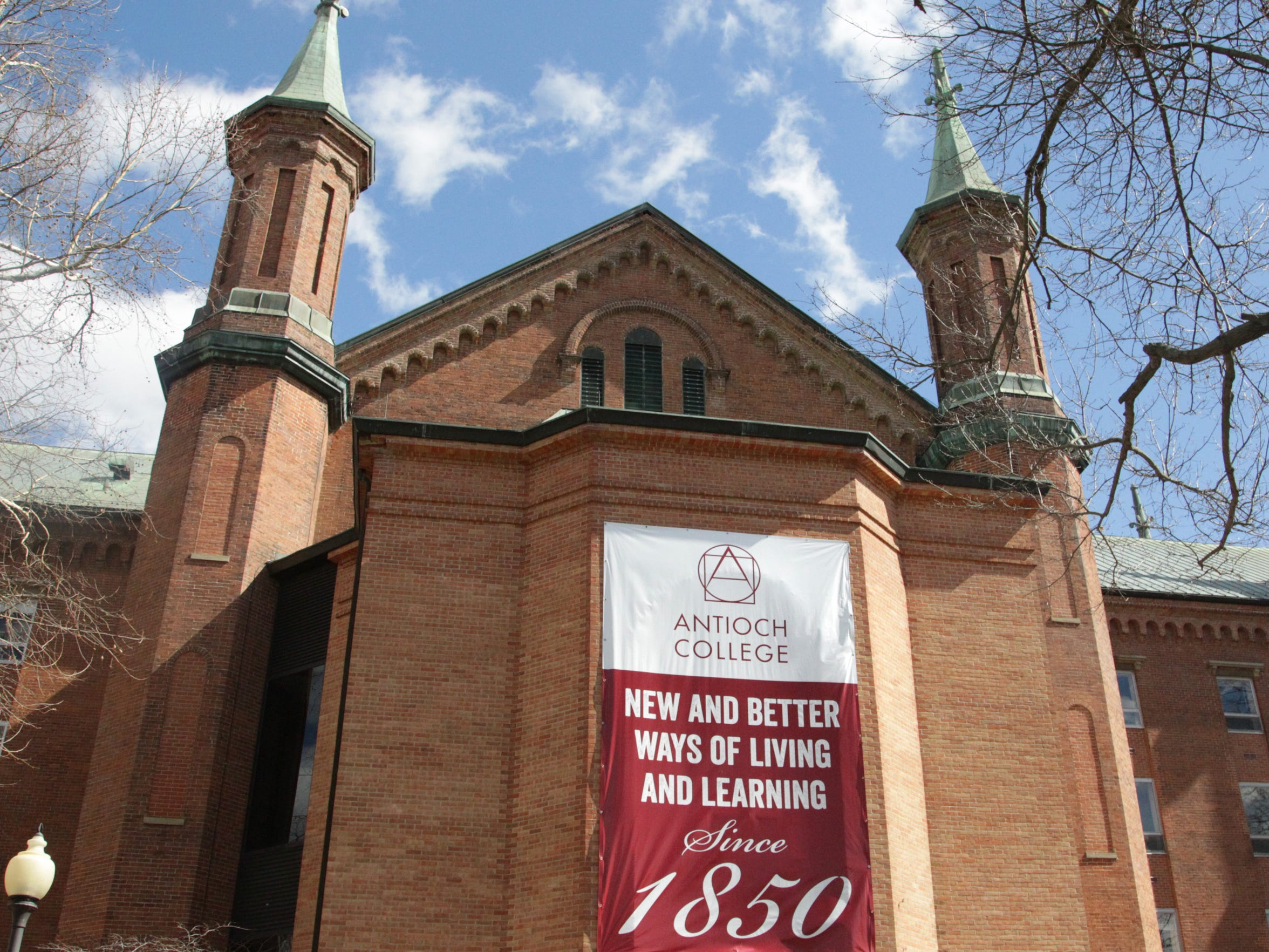 Antioch College in Yellow Springs, Ohio on March 9,