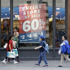 Retail sales rose at robust 0.5% annual rate in July