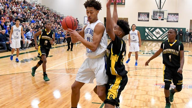 Former Robert E. Lee High School star Jarvis Vaughan still plans on playing basketball for Old Dominion University, but this year he'll be at Massanutten Military Academy before beginning college.