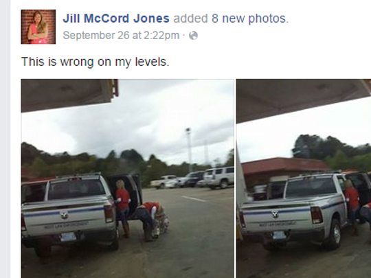 MDOT has opened up an investigation, after a Facebook sparked claims about the misuse of a state vehicle.