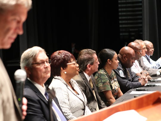 The Panelists gave their opening statements during The News-Press Town Hall.