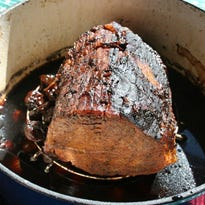 Unlike traditional sauerbraten, this version is not marinated before cooking and is served on very special occasions in a Pennsylvania Deutch home.