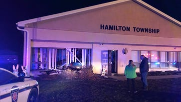 Hamilton Township on the mend after crash into building that 'wiped out' office