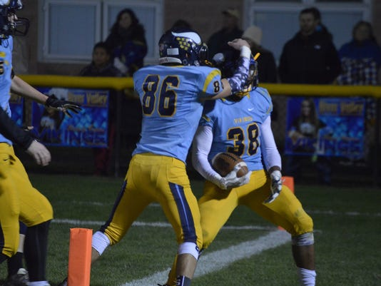 Michael Blevins River Valley football