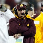 Central Michigan Chippewas head coach John Bonamego.