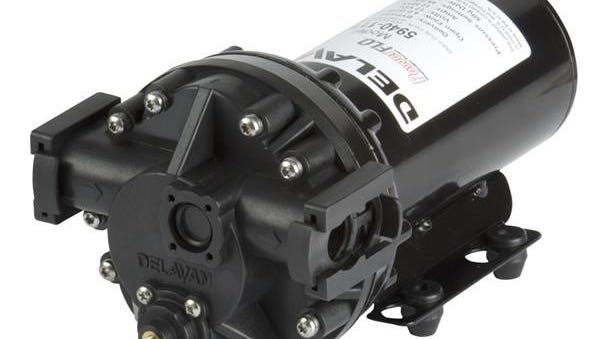 Delavan Ag Pumps' Quick Attach Port Bypass 3 – 5 GPM Model Pump has been designed to serve as the engine through which anti-icing brine can be applied to a road several hours prior to an anticipated winter storm.