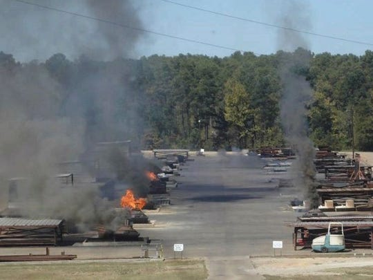 Clean Harbors Colfax operates an open burning facility for hazardous waste in Grant Parish. The company says its facility presents no health risk, but many nearby residents feel different.