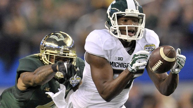 Former Michigan State wide receiver Keith Mumphery was expelled from the university in 2016 after an alleged sexual assault that took place on campus.