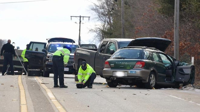 Dennis A. Maccarone of Westminster has been arraigned on a vehicular homicide charge in the fatal wreck that occurred on Route 20 in Auburn on Feb. 27.