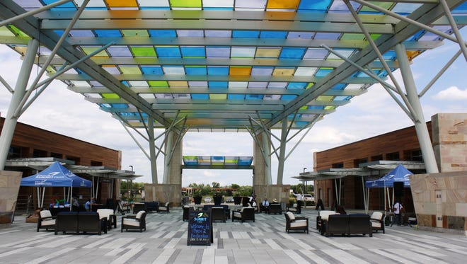 The Glass Canopy at Summit Park in Blue Ash