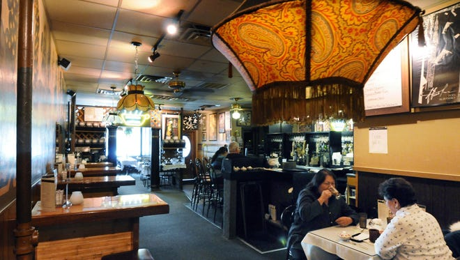 The eclectic nature of Caffé Espresso's décor gave the restaurant a vibe that was unmatched in the Green Bay area.