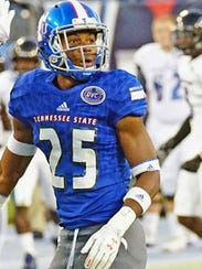 Tennessee State safety Vincent Sellers had two interception