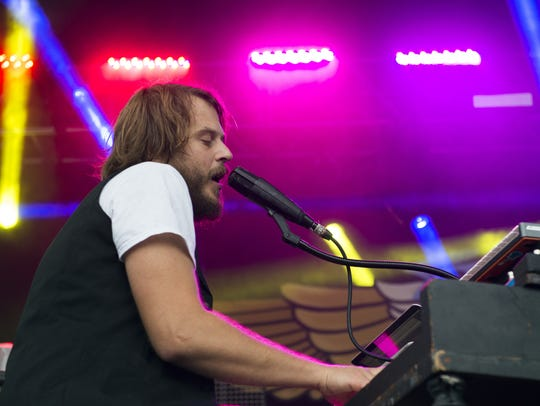 Marco Benevento performs during day two of the Grand