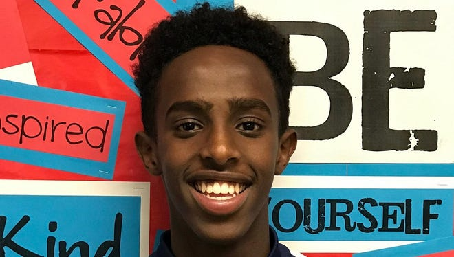 Phoenix North runner Abdihamid Nur is a finalist for the Arizona Sports Awards, presented by Arby's, Boys Cross Country Athlete of the Year.