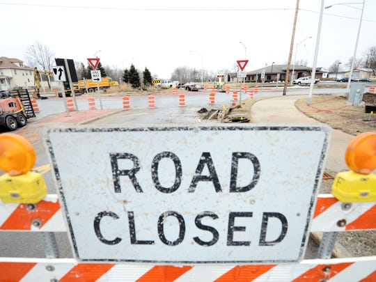 Spending on new highway construction leaves less for local road maintenance.