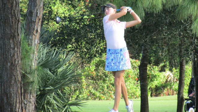 Nicole Cee won the South Florida PGA Junior Tour Championship at Jonathan's Landing on Dec. 3.