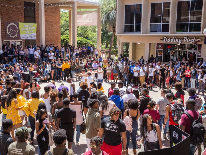 Market Wednesday, a favorite weekly event for FSU students