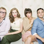 Members of Lake Street Dive include, from left, Mike Olson, Rachael Price, Bridget Kearney and Mike Calabrese. The band credits actor Kevin Bacon with boosting their career.