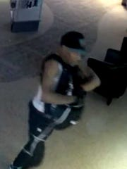 A suspect is wanted in a spree of Verizon store burglaries including one in Montgomery.