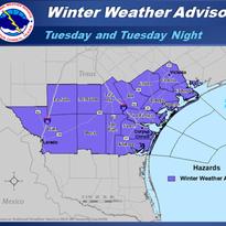 Corpus Christi area officials, schools prepare for icy road conditions