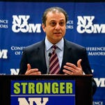 U.S. Attorney Preet Bharara speaks at the New York State Conference of Mayors on Monday, Feb. 8, 2016, in Albany, N.Y.