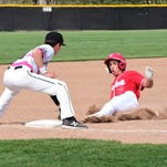 Plymouth bid for baseball sweep foiled by late Canton homer
